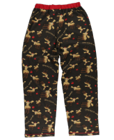 Women's Chocolate Moose PJ Trousers - Lazy One® | Regular Fit PJ Bottoms